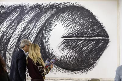 Karma International Judith Bernstein Feature in Basel 2015 © Art Basel