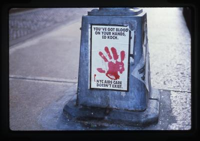 Gran Fury Title  (198X) Courtesy the artist and Gallery X