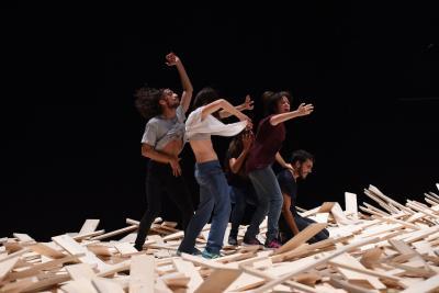 PerformanceTamara Cubas, Foto: Alexi Pelekanos