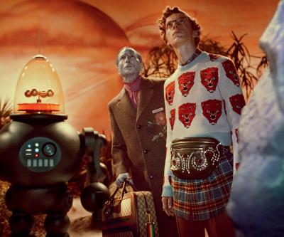 Gucci Fall Winter 2017 film campaign  Director: Glen Luchford, Art Director: Christopher Simmonds Courtesy Gucci