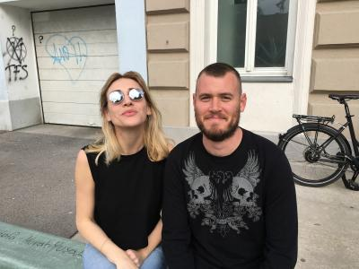 Franziska Sophie Wildförster and Cory Scozzari