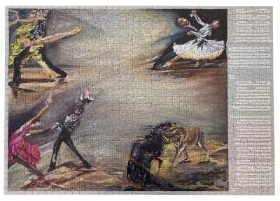 Jana Euler, international dance 1000 pieces , 2021