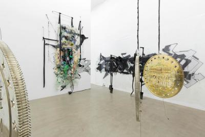 "Installation view ""KAYA V,"" Galerie Meyer Kainer, Vienna 2014 Courtesy Galerie Meyer Kainer Photo: Uli Holz"