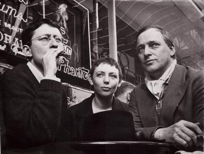 Guy Debord, Michèle Bernstein & Asgar Jorn, 1961