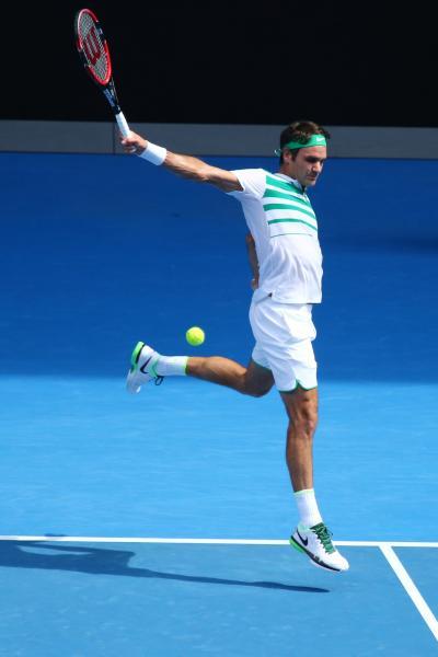 Roger Federer, Australian Open 2016 Photo Leonard Zhukowsky / Shutterstock.com