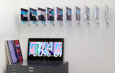 »Corporate Video Decisions«, 2011, Austellungsansicht, Friedrich Petzel Gallery, New York Courtesy the artist and Friedrich Petzel Gallery, New York