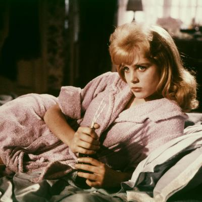 """Susan Ryan as """"Lolita"""" in Stanley Kubrick's Lolita , 1962"""