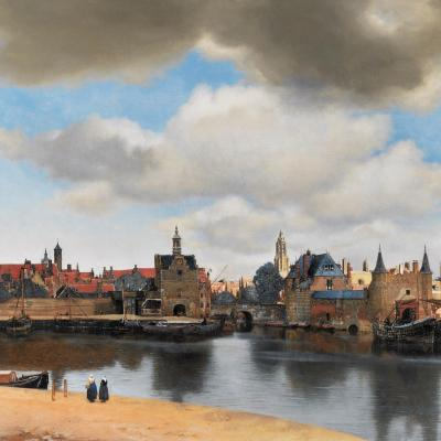 Johannes Vermeer, View of Delft , 1660-1661 Oil on Canvas. 96.5 cm × 115.7 cm