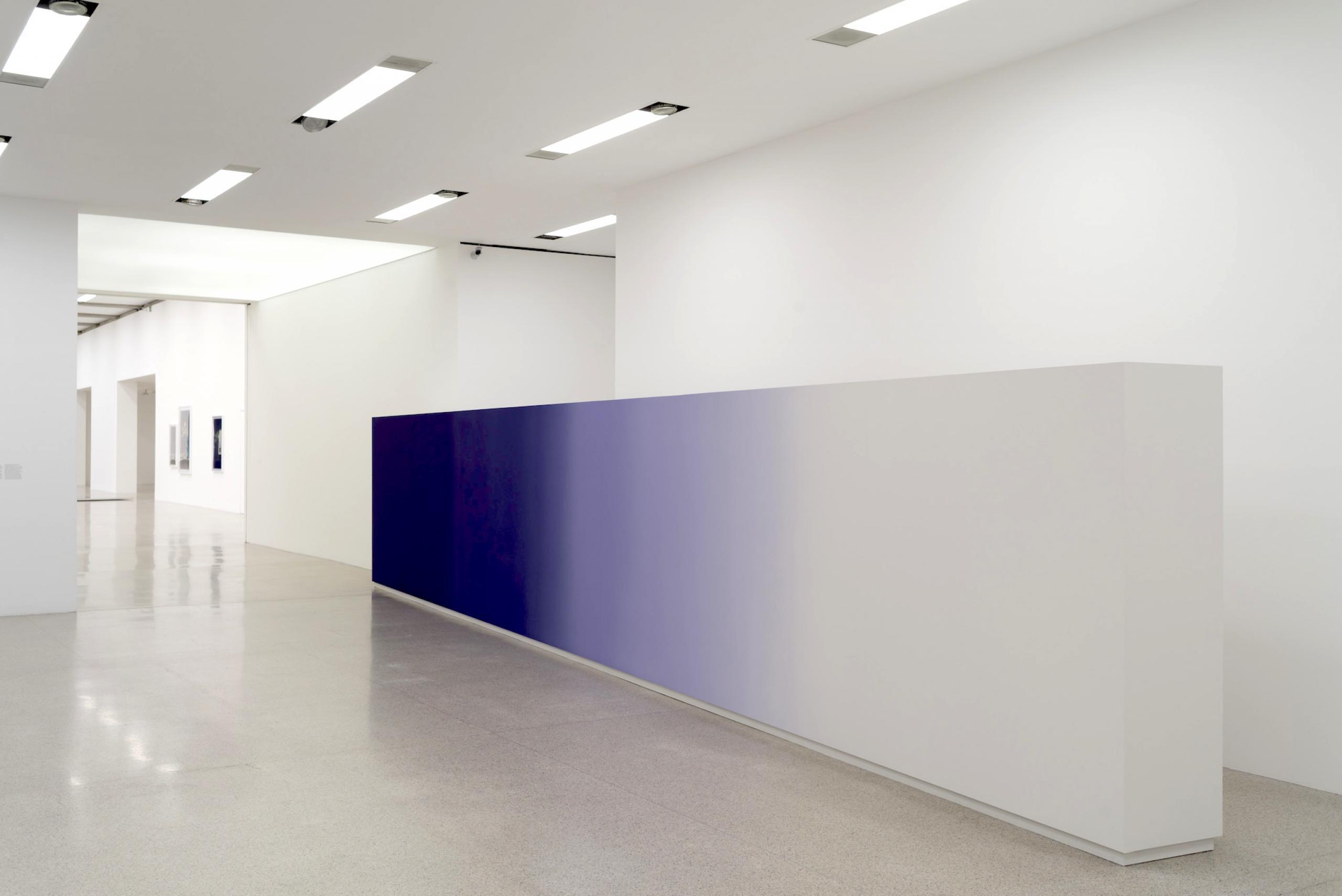 """Martin Beck """"rumors and murmurs"""", Ausstellungsansicht"""