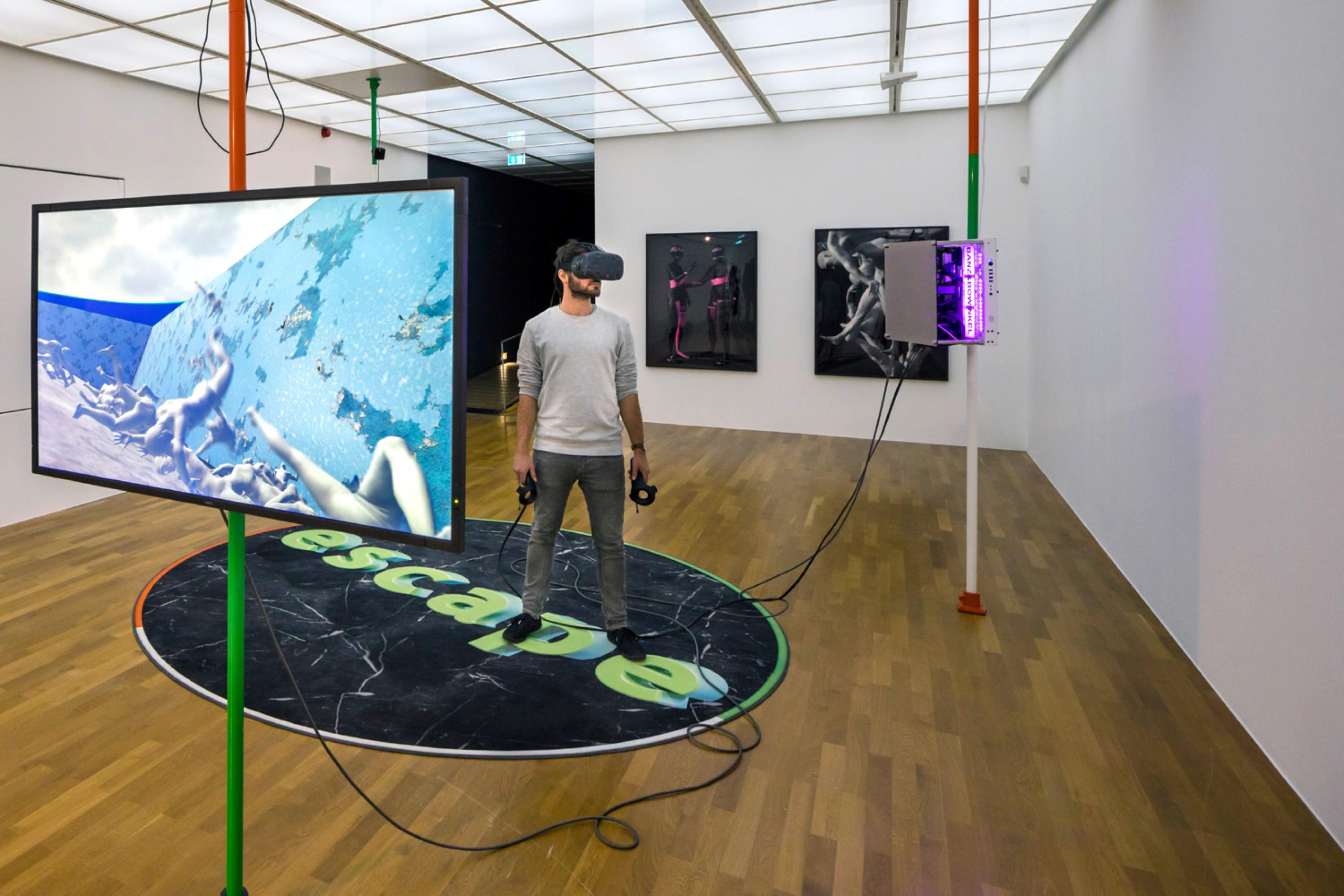 Giulia Bowinkel &Friedemann Banz Palo Alto (2017), Installation view Zeppelin Museum Photo: Tretter