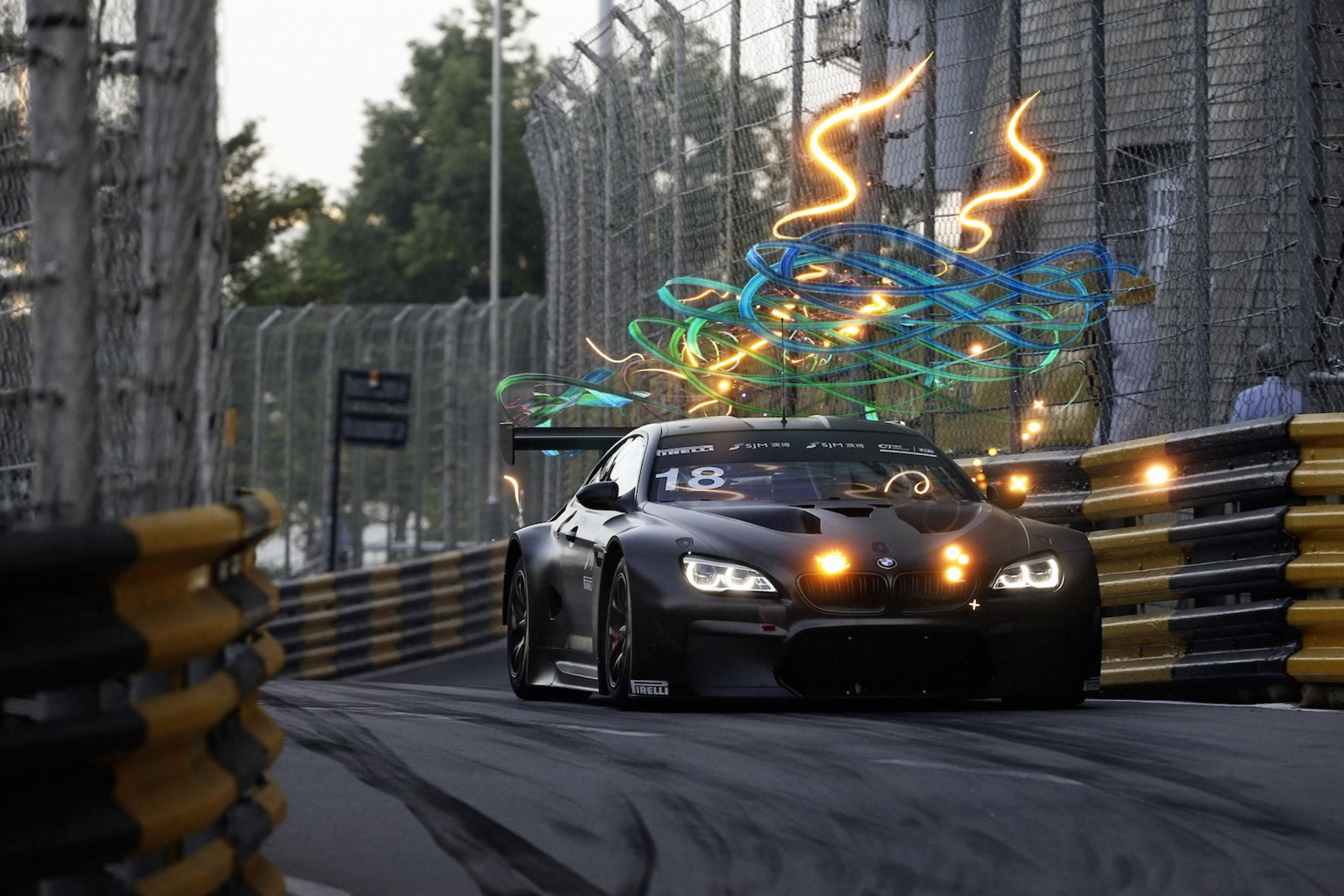 BMW Art Car by Cao Fei in Macau © BMW AG & Cao Fei Studio