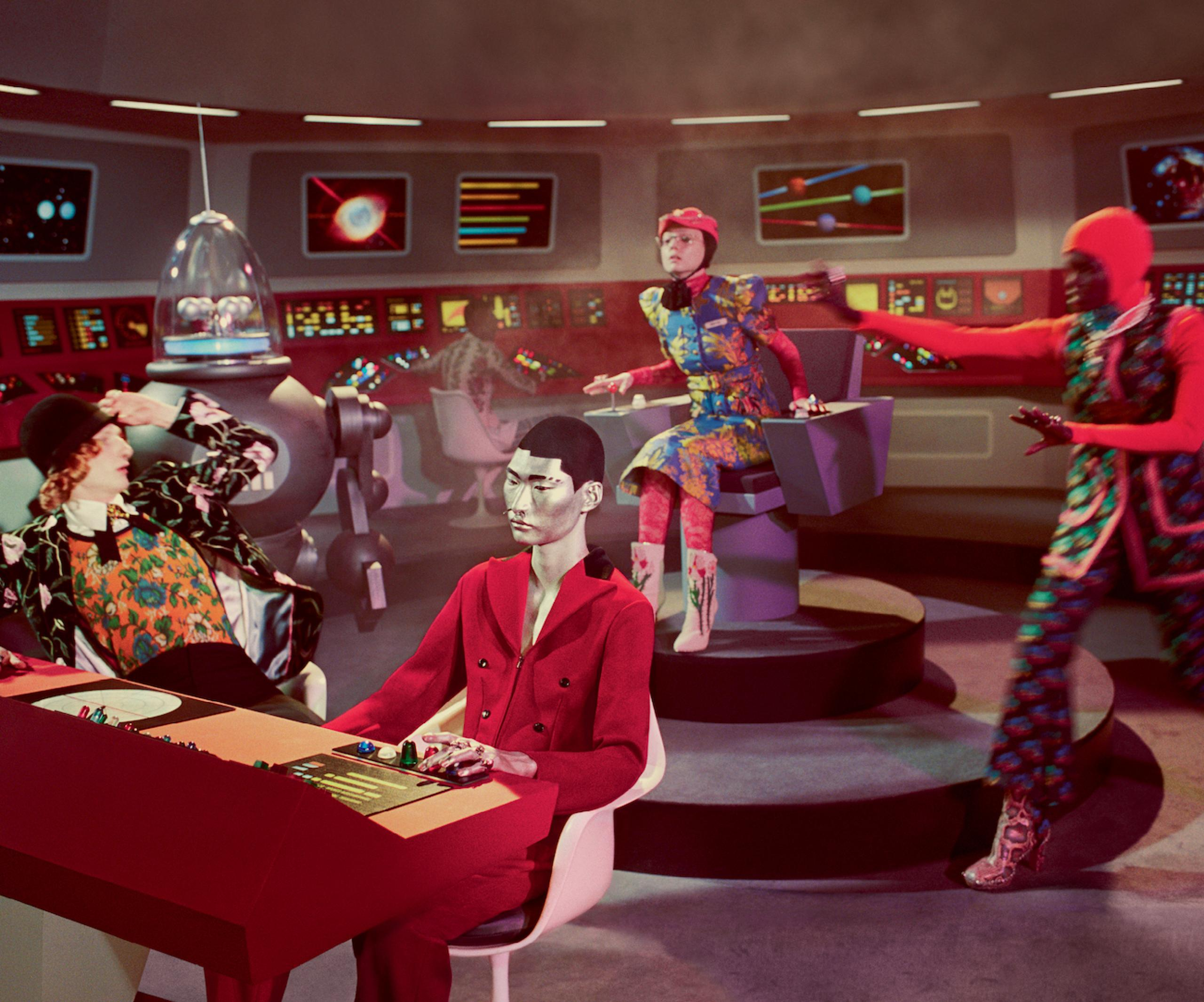 Gucci Fall Winter 2017 film campaign Director: Glen Luchford, Art Director: Christopher Simmonds M & © 2017 CBS Studios Inc. STAR TREK and related marks are properties owned by CBS Studios Inc. All Rights Reserved.
