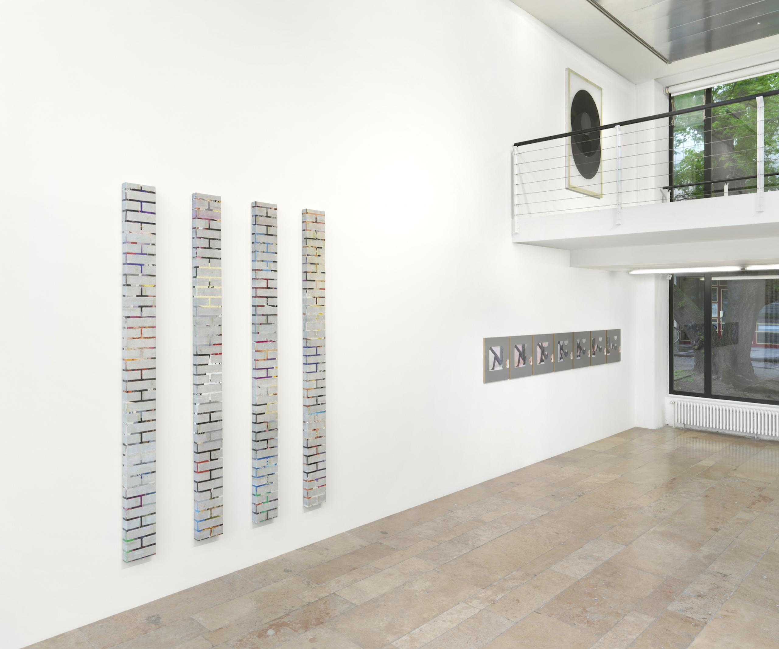 Installation view at Capitain Petzel © the artist, Photo: Jens Ziehe