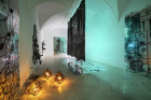 KAYA (Kerstin Brätsch and Debo Eilers) KAYA_KOVO, installation view, Fondazione Memmo, Rome, Italy, 2018 Courtesy the artists and Deborah Schamoni
