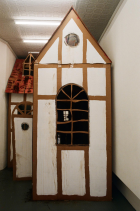 """""""Hütti"""" (2017); Installationsansicht"""