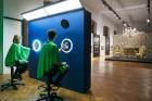 """""""SAGMEISTER & WALSH: Beauty"""" (2018) Exhibition view at MAK Sagmeister & Walsh, Selfie Booth (2018) © Aslan Kudrnofsky/MAK"""