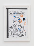 Verena Dengler Let's Paint Sinéad O'Connor and pope John Paul II! , (2017) ©Bildrecht, Wien, 2017, Courtesy Galerie Meyer Kainer
