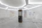 "Distributed Gallery Chaos Machine (2018) Installation view, ""Proof of Work"", Schinkel Pavillon, 2018. Photo: Hans-Georg Gaul"