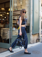 Dakota Johnson leaving Café Verlet