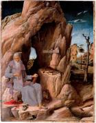 Andrea Mantegna St. Hieronymus in der Wüste (1431)