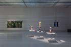 Danutė Kvietkevičiūtė, Grass (Dedicated to M.K. Čiurlionis) (1975), Janek Simon, Polyethinc 1 (2016), Polyethinc 3 (2016), Polyethinc 12 (2019), Henrikas Gulbinas, Unimaginable Things (1988). Photo:Ugnius Gelguda