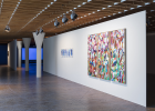 Herman Mbamba Left: The blue mandane series 1–5 (2017–18) Right: Wait for me in the lurking landscape (2017–18) Courtesy Herman Mbamba; blank projects, Cape Town, Photo: Timo Ohler