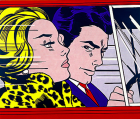 "Roy Lichtenstein, ""In the Car (sometimes Driving)"", 1963"