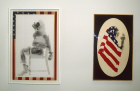 David Hammons, Injustice Case, 1970; Pray for America, 1974