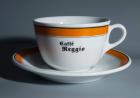 Cappuccino Cup & Saucer, Caffee Reggio, New York