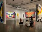 Daiara Tukano interviewed in her installation Dabucuri no céu , 2021