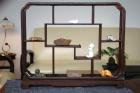 Display shelf with Tea pets at Thirsty Moon Photo: Paul Sochacki