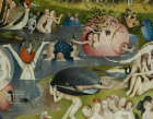 Detail from central panel of The Garden of Earthly Delights Hieronymus Bosch, 1503-1515