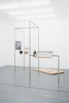 Installation view at Exile Gallery, Berlin