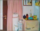 Florina Lăzărescu (Coulin), Interior , 1970, Oil on canvas, Courtesy of the artist