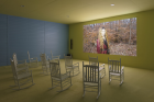 """Exhibition view of """"Lizzie Fitch 
