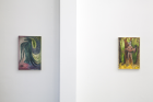 "Exhibition view of Sean Mullins, ""Protracted yawn, evanescing Eos"", at Fragile, Berlin"