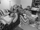 LaToya Ruby Frazier J.C. and Me Watching Soap Operas in her Living room (2007)