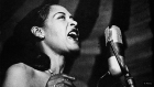 "Billie Holiday's first live performance of ""Strange Fruit"", 1939."