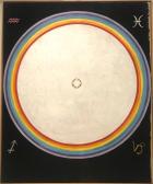 Hilma Af Klint Group IX/UW, No. 38, The Dove, No. 14 (1915)