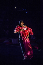 Trajal Harrell in  Caen Amour , Photo: Orpheas Emirzas