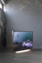 Tammarat Kittiwatanokun Installation view of Natural Wonders (2018-19, series) at Ku Bar Project Space