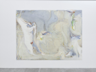 Jo Baer Red, White and Blue Gelding Falling to its Right (Double-Cross Britannicus/Tricolor Hibernicus) ( 1984–86)