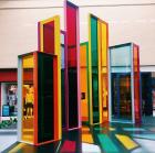 Liam Gillick Intermodal Elevation (2015) at NorthPark Center