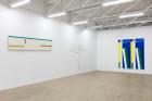 """Meandering Abstractly""(2017), exhibition view atgalerie frank elbaz, Dallas, TX, USA Photo: Kevin Todora"