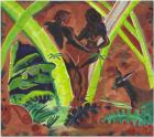 Nicholas Grafia, Malakas & Maganda , 2020, Acrylics and tinting paint on canvas, 160 x 180 cm