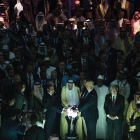 Mohammed Bin Salman and Donald Trumpinaugurate The Global Center for Combatting Extremist Ideology in Riyadh, 2017