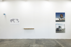 """""""PARIS TEXAS""""(2017), exhibition view atgalerie frank elbaz, Dallas, TX, USA Photo: Kevin Todora"""