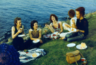 Nan Goldin Picnic on the Esplanade, Boston 1973