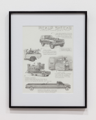 Pickup Shticks , n.d. Pencil on paper, 28 x 43 cm