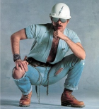 David Hodo as one of the Village People